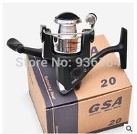 Free shipping fishing reel 3 BB 5.0:1 Including line rock spinning wheel ice pole fishing reel GSA20