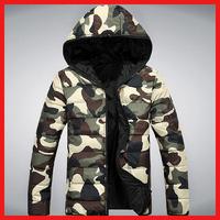 2014 Hot Sale winter fashion Casual men/women coat brand outwear zipper Hoody army Camouflage military jackets plus size M-3XL