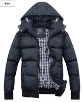 NEW 2014 men's clothing winter outerwear wadded jacket Waterproof man down cotton-padded coat thick warm duck down & Parkas HOT