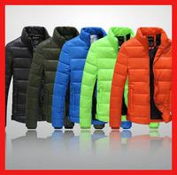 2014 Hot Sale winter fashion Casual man coat brand outwear zipper sports thick cotton warm parka jackets for men plus size M-XXL