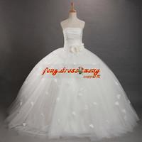 New White Flower Girl Dress Girls' Dresses Party Evening Prom Communion Celebrity Dress Floor length