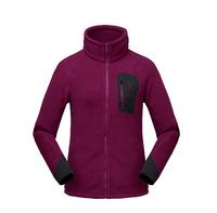 2014 Women's Warm Jacket,Purple Brand Fleece,Outdoor Hiking Sports Jacket,Autumn Womens Cardigan Clothes