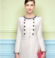 Woolen jacket and long sections Slim 2014 winter new Korean double-breasted wool coat genuine NDX149 Y9W