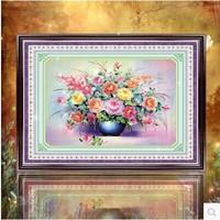 Free shipping 5D diamond Painting Diy kit Round diamond paste diamond draw Home Decoration Bloom happiness