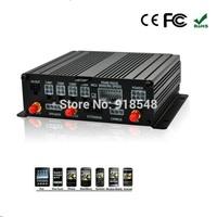 4CH Vehicle CCTV Recorder hd Car DVR with gps