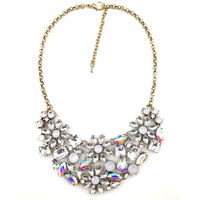 2014 New disign JC pendant women necklace & pendant  Unique costume choker collar bib statement crystal  Necklace for women