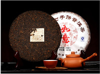 new arrival very excellent ripe puer tea 357g Yunnan PuEr healthy tea ripe puerh tea cake loose weight