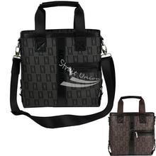 Men's Messenger Shoulder Cross-Body Briefcase Handbag Computer Bag 17-18 Inch Bag 2 Colors(China (Mainland))