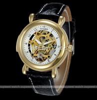 Free ship,2014 Sport Auto Mechanical Tourbillon GENUINE Leather Wrist Watch,Watches Men / Women Luxury Brand Full Steel Watch