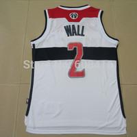 Free Shipping, #2 John Wall Men's American basketball jerseys .super Wall new basketball jerseys size s-2XL