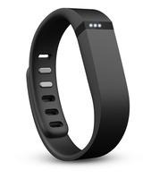2 PCS Large Size Replacement Wrist Band &Clasp for Fitbit Flex Bracelet (NoTracker) Black Color