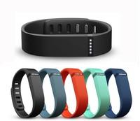 Free Shipping 5 PCS Large Size Replacement Wrist Band &Clasp for Fitbit Flex Bracelet (NoTracker) Black,Orange,Slate,Blue,Navy