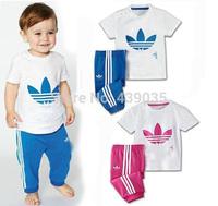 SH New 2014 summer dress short sleeve clothes pants suits girls clothing sets boy suit kids clothes sets