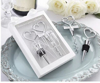 Perfect Couple Bride and Groom Corkscrew and Stopper Wine Sets Wedding Favors