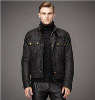 UK Brand steve mcqueen Jacket Man Jacket motorcycle jacket men's waxed cotton outerwear top quality The roadmaster Jacket