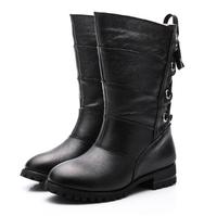 2014 fashion  new women boots  women motorcycle boots autumn boots flats woman shoes #J1470972Q