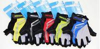 mountain bike gloves bicycle gloves damping short half- finger gloves