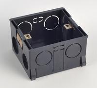 Plastic Materials switch Box, international Standard wall switch box for 86mm*86mm Standard Light switch