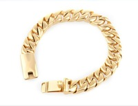 Gold anti radiation health care titanium bracelet casting polished smooth bright surface comfortable never fade