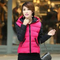 free shipping  New 2014 Jacket Winter Coat Thicken Slim Female short Coat Women Parka Winter 50