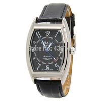 новый победитель Золотой Скелет мужчины себя Ветер автоматические часы античный стиль черный кожаный ремень мужской моды механические часы sw037