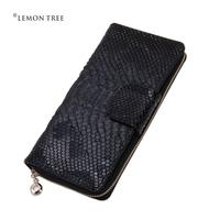 2014 New genuine leather long wallet high quality wallets women female women clutch women's purses designer brand for ladies