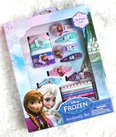 Hot sale! 10 Sets Frozen Hair Clip/Cartoon Barrettes+Snap Clips+Elastics+Terries Lovely hair accessories/Gift headwear
