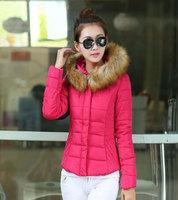 free shipping  New 2014 Jacket Winter Coat Thicken Slim Female short Coat Women Parka Winter 53