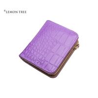 new 2014 genuine leather bag women wallets purse women clutch female fashion alligator cowhide high quality bolsas femininas