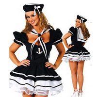 Sailor Navy Hat Popular In Europe And America Sexy Cosplay Costumes Halloween And Party Costumes fantasias femininas AN050