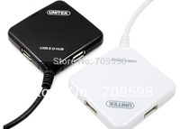 HongKong Post Super Speed 5Gbps Brand New USB 2.0 4 Ports Hub Read Card w Cable Adapter
