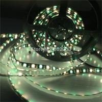 5M 5050 RGBW Black PCB 300 LED 60led/m SMD Waterproof IP65 DC 12V Flexible Light Strip