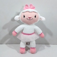 Original Doc McStuffins Toys 30cm Lamb Lambie Plush Toys Sheep Stuffed Animals Pelucia Juguetes Kids Toys for Children