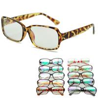 brand stylish practical radiation resistant glasses large frame reading eyeglasses unisex PC computer protective