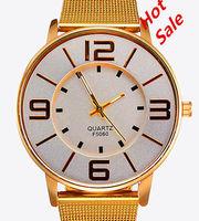 New 2014 Korea fashion Women Wristwatches Rose Gold Quartz watch Luxury Alloy material+ultra-thin dial Women Dress watches