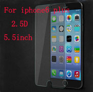 0.25mm Premium Tempered Glass Film Screen Protector For iPhone 6 Plus 5.5 inch 2.5D Round Edge Shatterproof Film With Package