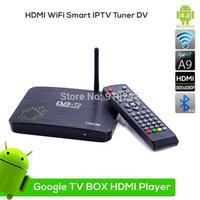Android 4.2 Smart TV BOX DVB T2 DVB-T2 TV Receiver AML8726-MX Dual-core XBMC Sport Live