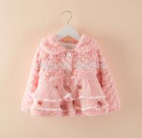 Kids furry overcoat,ZL-CSJ01