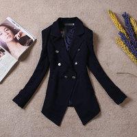 New 2014 women stylish comfortable  jacket coat suit jacket Ladies large size casual Blazer coat cardigans B1221