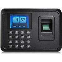 NEW USB TCP/IP Password Fingerprint Time Recorder Attendance Employee Salary