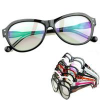 women decorative glasses brand large frame reading gafas plain lenses non-mainstream goggles unisex