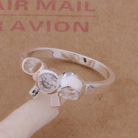 Wholesale free Shipping 925 silver   ring High quality  925 silver fashion jewelry ring R00144
