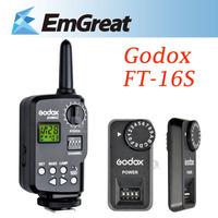 Godox FT-16S 16Ch Wireless Controller Remote Trigger Antenna Receiver for Godox Ving V850 V860C Speedlite Flash Camera P0016271