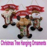 Christmas Santa Claus Deer Snowman Rag Doll Kid Toys enfeites de natal Decoration arvore de natal Ornaments