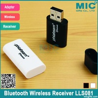 Quality Hot Bluetooth Wireless Receiver Adapter USB Dongle 3.5mm Stereo Music Receiver for Speakers Black & White LLS081