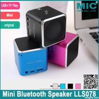 Free Shipping mini speaker MD06D portable speaker,upgraded MD06 suppurt TFcard+Card reader+HOT original speaker LLS078