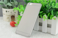 """1000pcs 2014 new hot sale 0.3mm ultrathin pp matte case for iphone 6 6g back cover case 4.7"""" inch phone case 10 colors"""