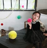 girls sparkle velvet dresses,GD-JJZY01