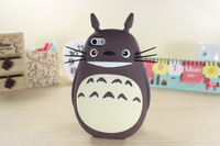 Cute 3D My Neighbor Totoro Cute Cat Totoro Case for iPhone 5s 5 Silicon Skin Case Japanese Hayao Miyazaki Cartoon Figure Covers