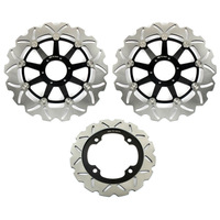 Full Set Front+Rear Brake Disc Rotor For  HONDA CBR 600 F 1999 2000 CBR 900 RR Fireblade SC28 G034 900 1992 1993